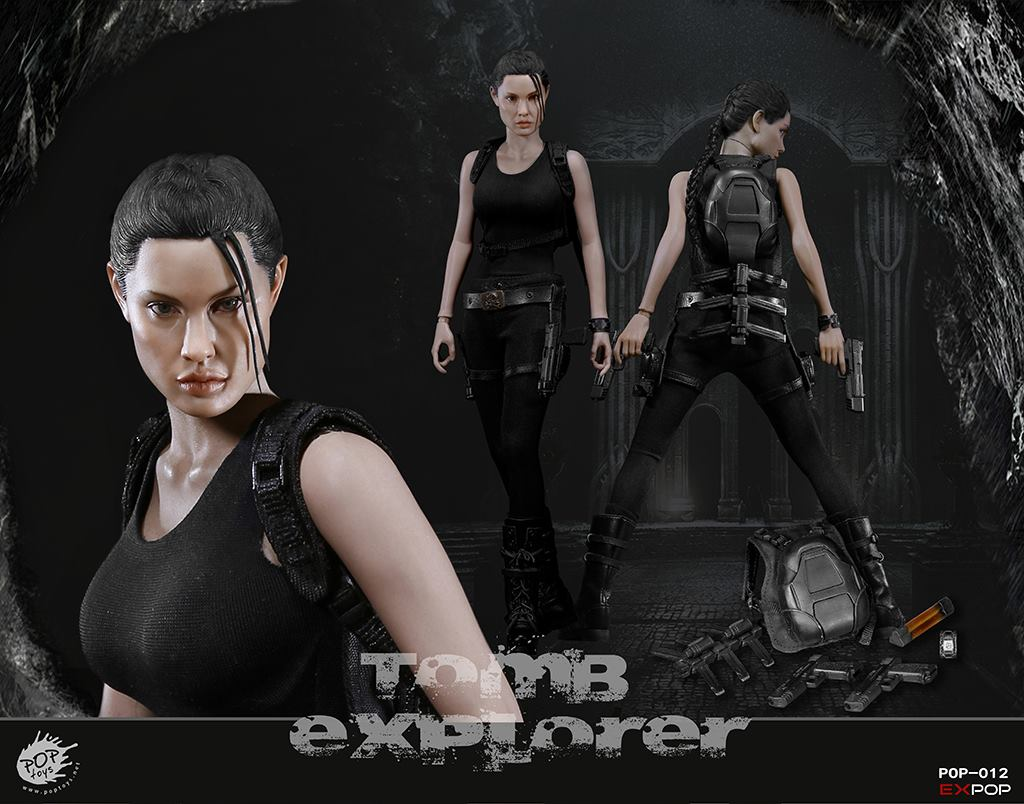 Tomb Raider explorer action figure
