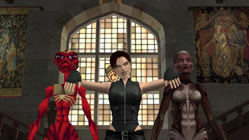 Lara Croft Doppelgangers