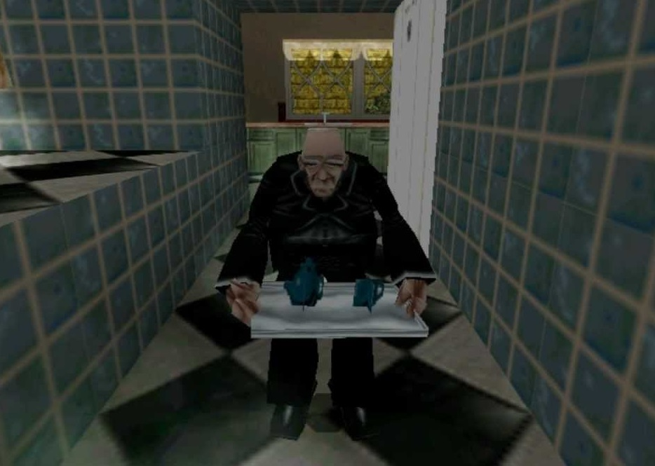Winston v lednici