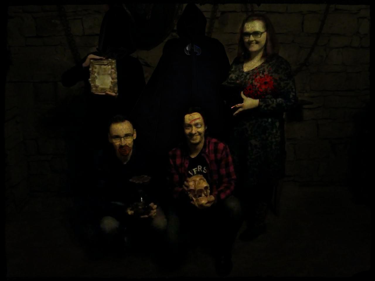 Zombie LadyCroft tým