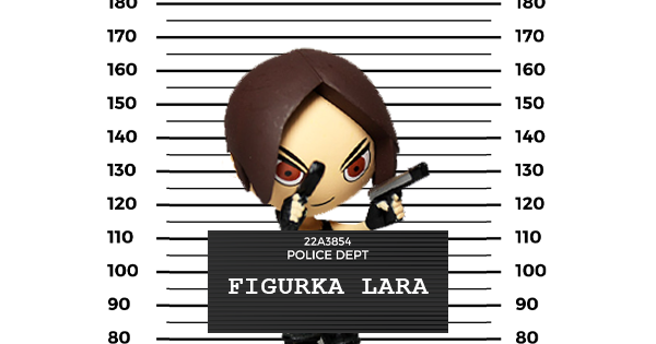 Figurka Lara chycena