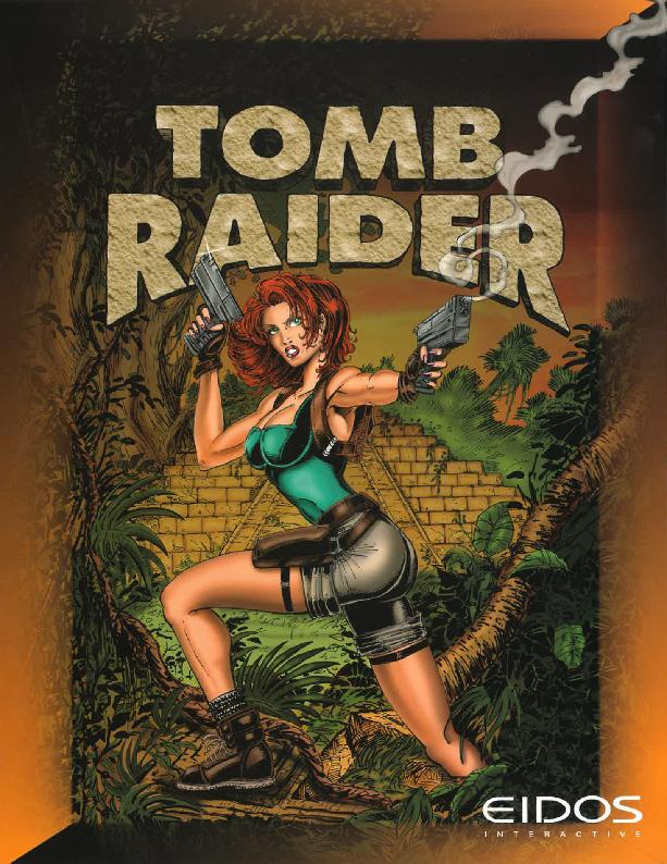 Game Informer z roku 1996 - Tomb Raider