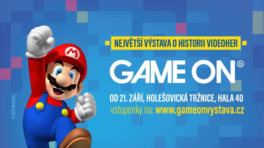 GAME ON výstava Holešovice