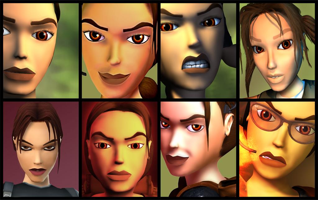 Lara Croft - klasický Tomb Raider