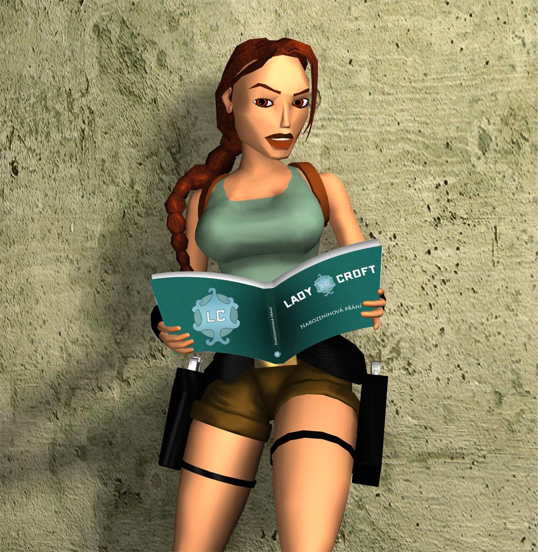 Lara Croft - narozeniny