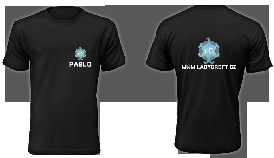 LadyCroft tričko