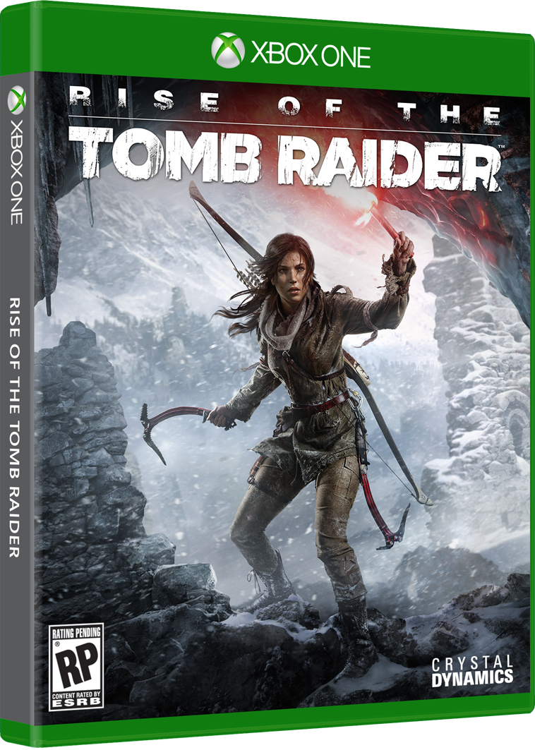Rise of the Tomb Raider box-art