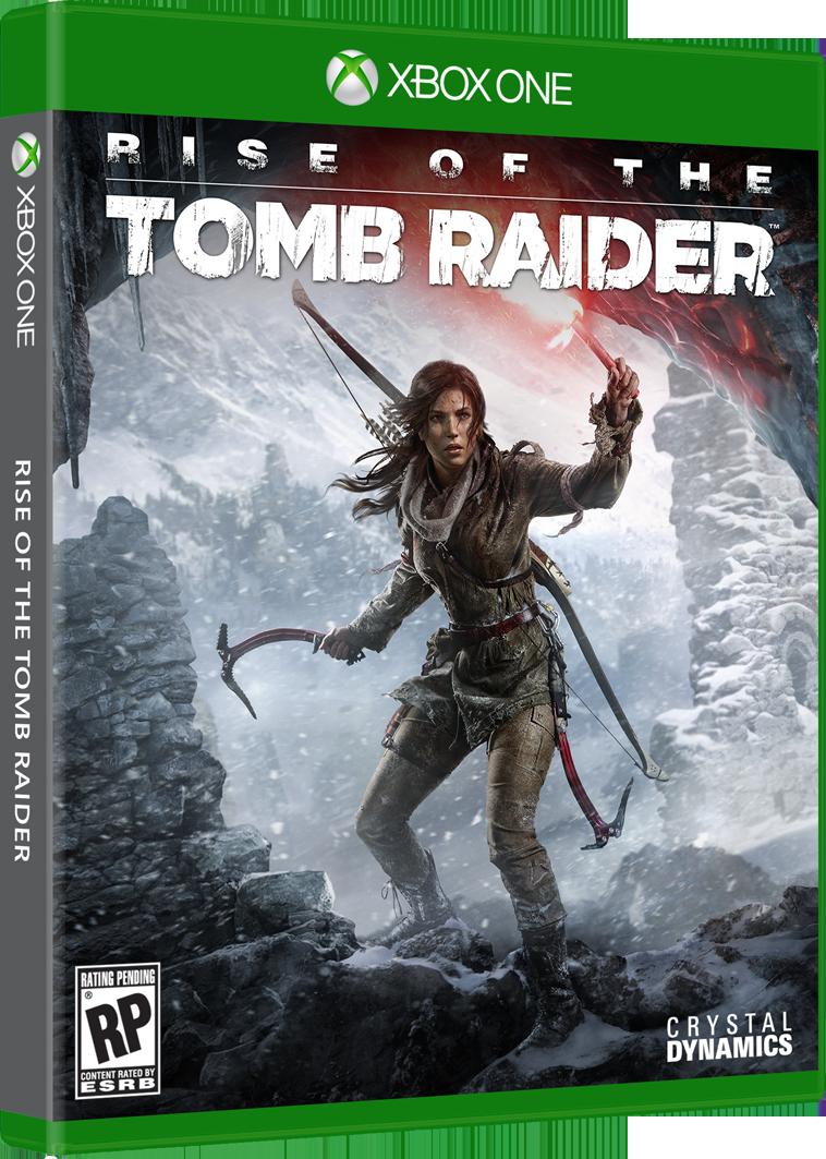 Rise of the Tomb Raider box-art