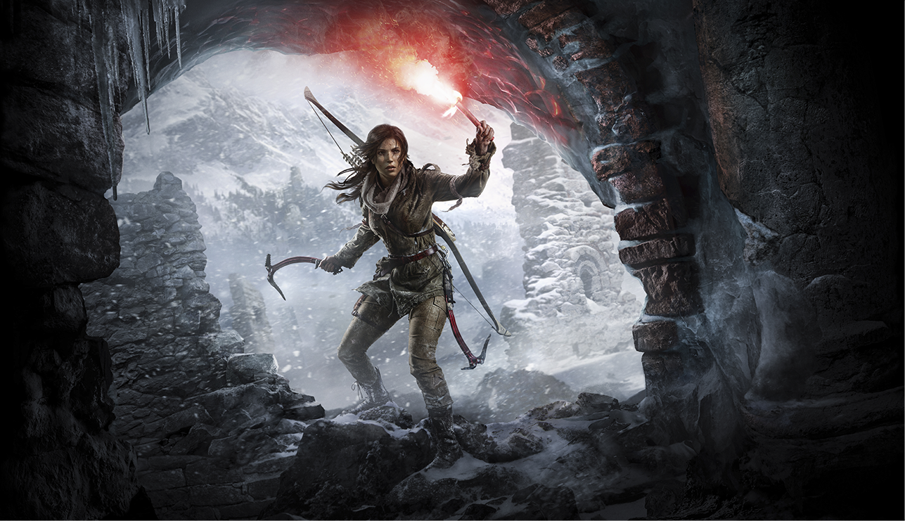 Rise of the Tomb Raider render