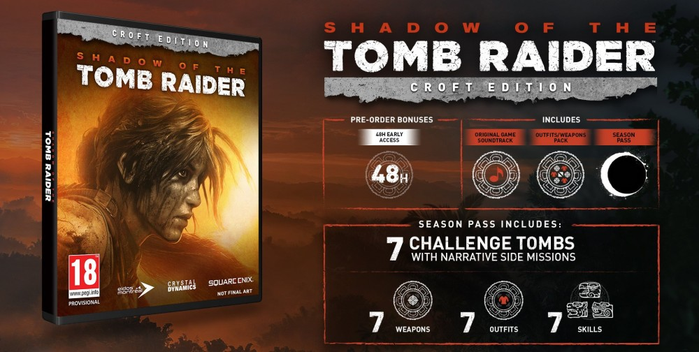 Shadow of the Tomb Raider - Croft edice