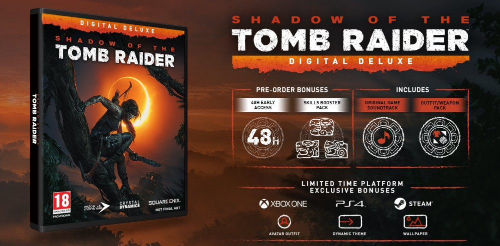 Shadow of the Tomb Raider - Digital Deluxe edice