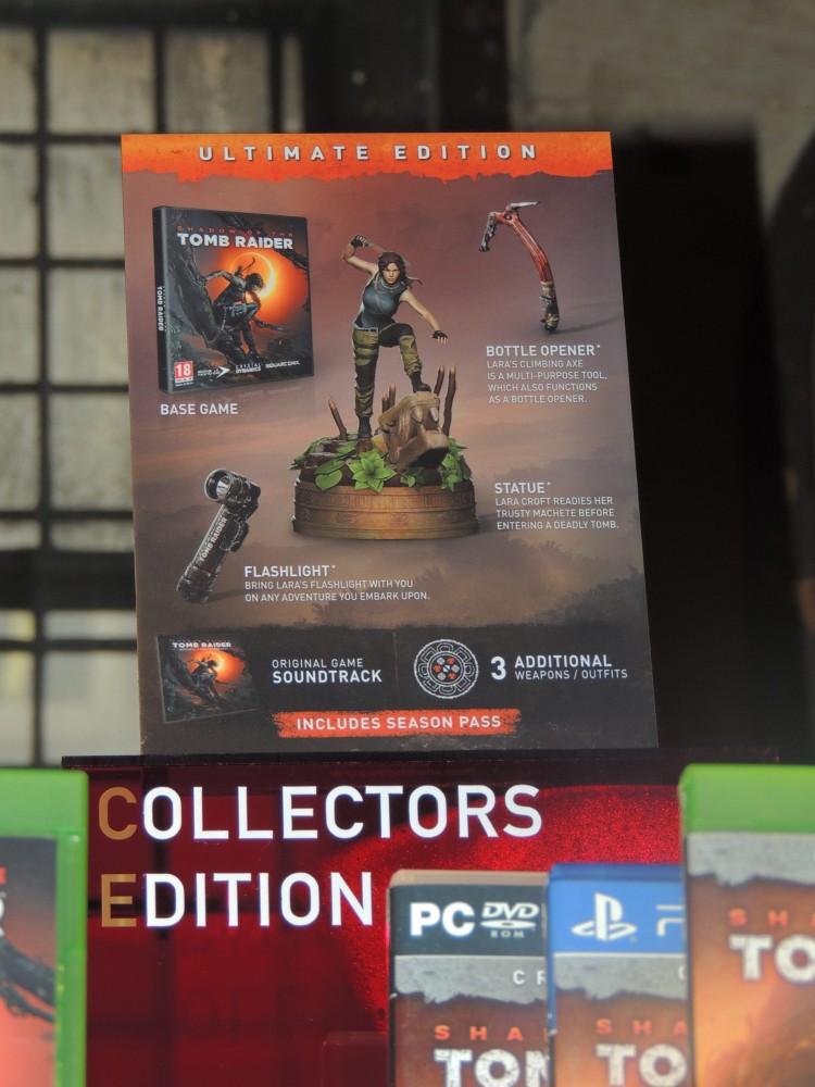 Shadow of the Tomb Raider - sběratelská edice hry