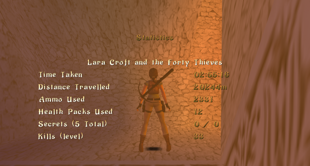 Lara Croft and the Forty Thieves