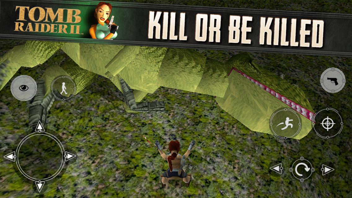 Tomb Raider 2 na iOS
