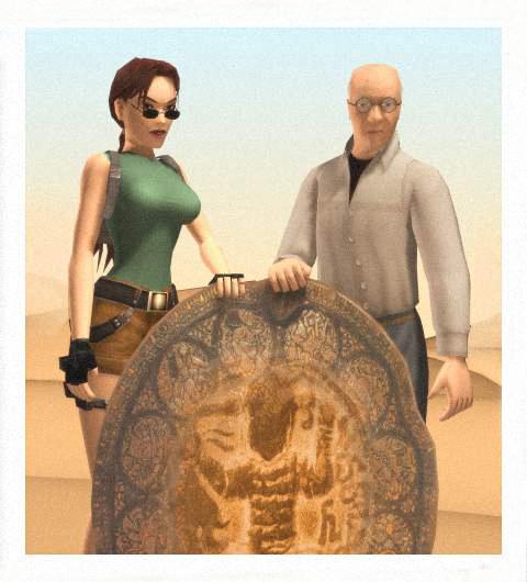 Werner s Larou v Egyptě