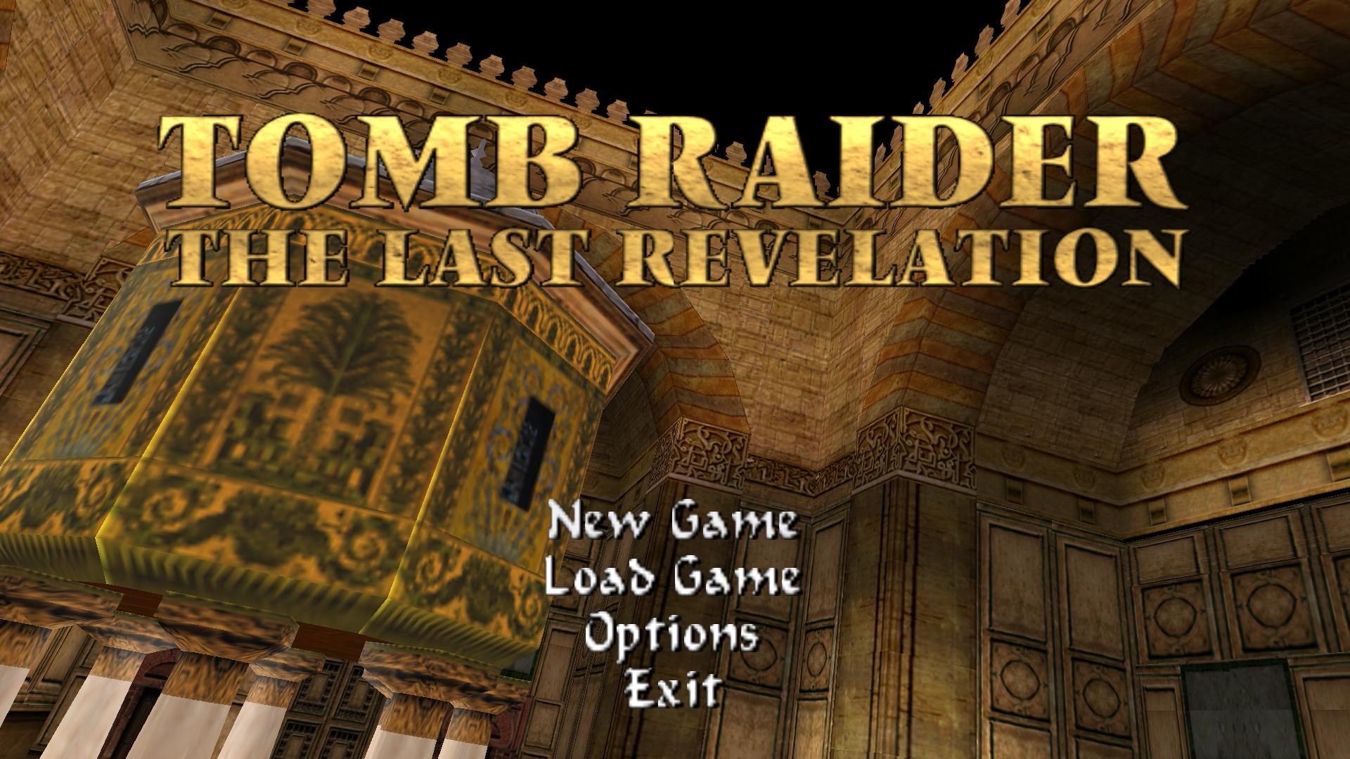 Tomb Raider 4 - Title Original